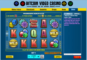 Bitcoin Video Casino slots