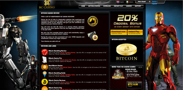 bc casino website review