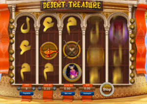 Desert treasure slots from Softswiss
