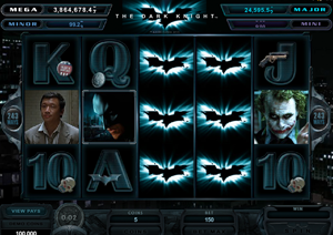 Dark Knight slots by Microgaming