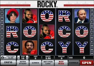 Rocky Slots by Playtech