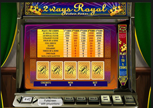 Video Poker by Playtech