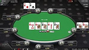 betcoin poker table