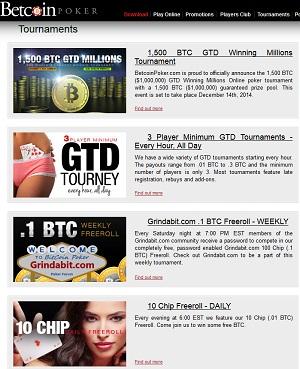 betcoin poker freerolls tournaments