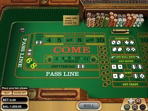 Play Bitcoin Craps at Betcoin Casino
