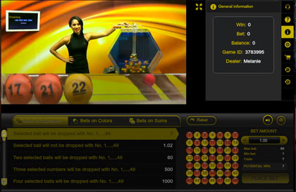 Princess Star Casino live lottery