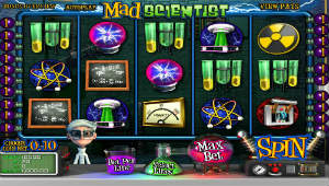 Mad Scientist Slots