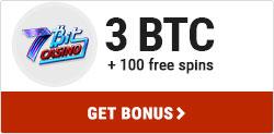 7Bit Casino 3BTC Bonus
