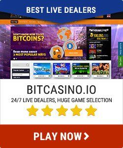 Bitcasino.io best live dealers