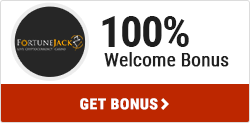 FortuneJack 100% welcome bonus