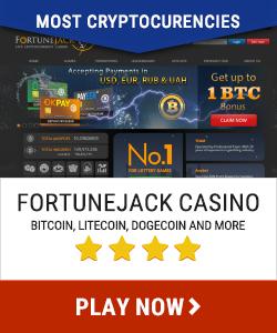 Fortune Jack Casino anmeldelse - Bitcoin casinosider