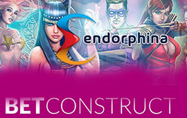 BetConstruct to add Endorphina Games to Spring Platform