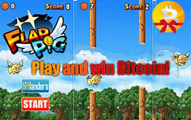 Earn Bitcoins With New Mobile Game Flap Pig