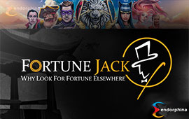 Endorphina Slots Arrive at Fortune Jack Casino