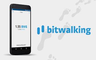 Bitwalk app