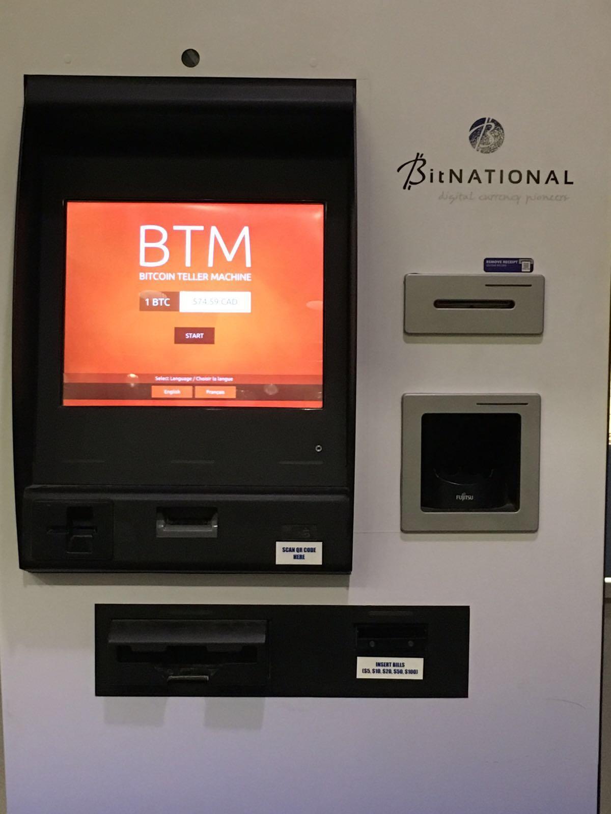 Bitcoin ATM Edmonton