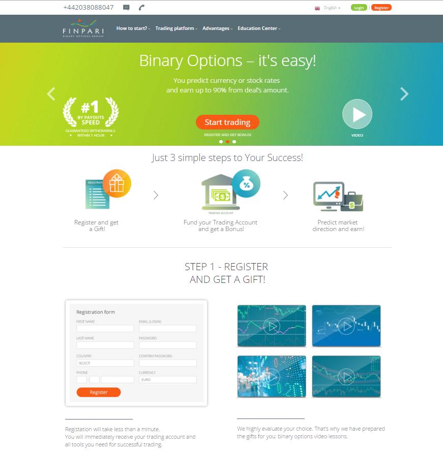 Finpari Homepage