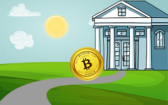 Bitcoin Rolls Into The Town hall of Zug, Switzerland
