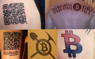 Bitcoin tattoos