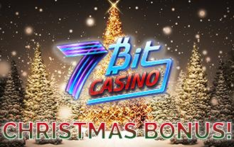 7Bit casino Christmas bonus