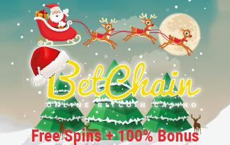 BetChain Christmas bonus