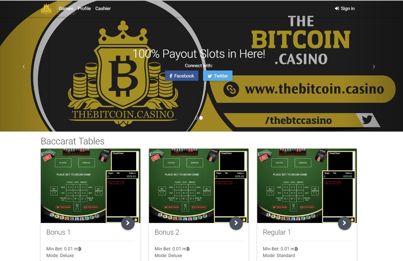 bitcoin.casino home