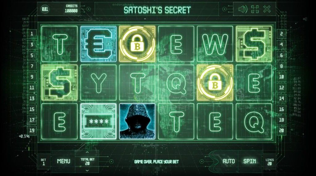 satoshi slot casino game