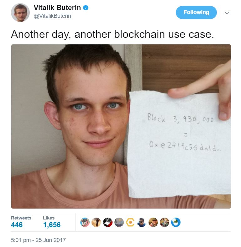 Proof Vitalik Buterin Is Alive