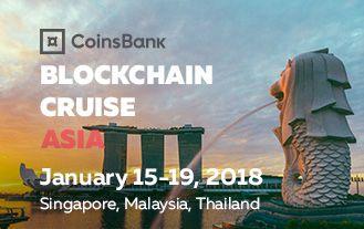 CoinsBank Blockchain Cruise Asia 2018