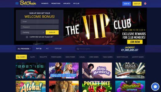 betchain bitcoin casino