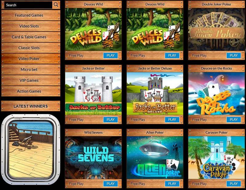 Company Casino games