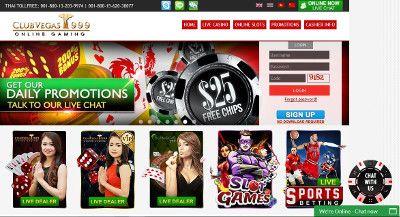 clubvegas999 casino review