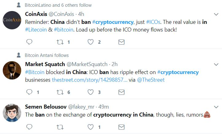 Skeptics React To China Bitcoin Ban News