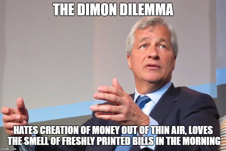 Dimon Belittles Bitcoin But Has A Dilemma