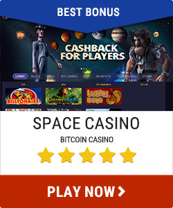 space casino best bonus