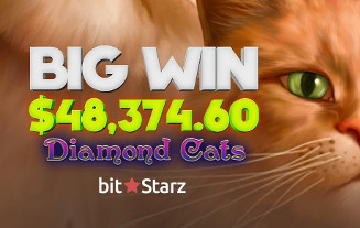 Press Release: $48,374.60 Win Landed by Previous Big Winner at BitStarz Caino
