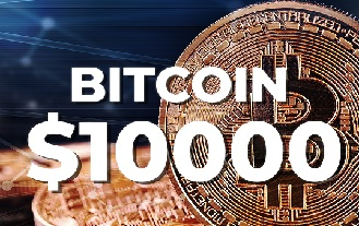 Bitcoin Surpassed $10000 USD Before Retreating Slightly