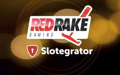 Slotegrator Starts Cooperation with Red Rake Gaming