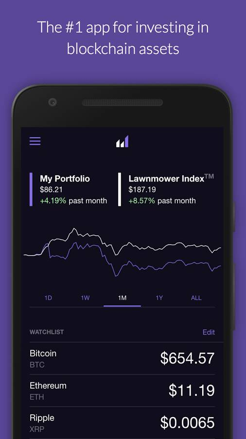 lawnmower cryptocurrency trading app