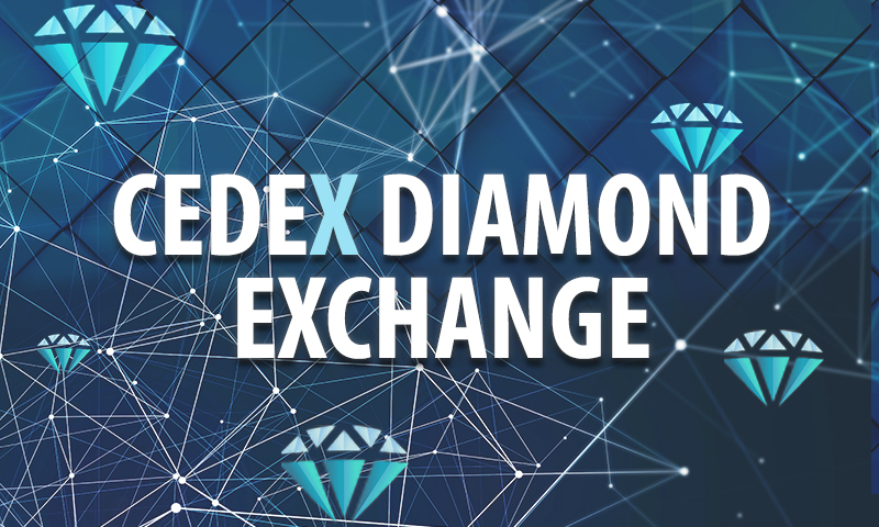 cedex blockchain diamond exchange