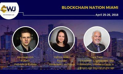 Blockchain Nation coming to Miami, Florida, on April 25 – 26
