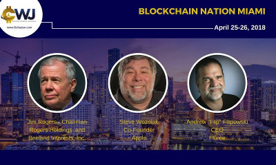 Blockchain Nation coming to Miami, Florida, on April 25 – 26